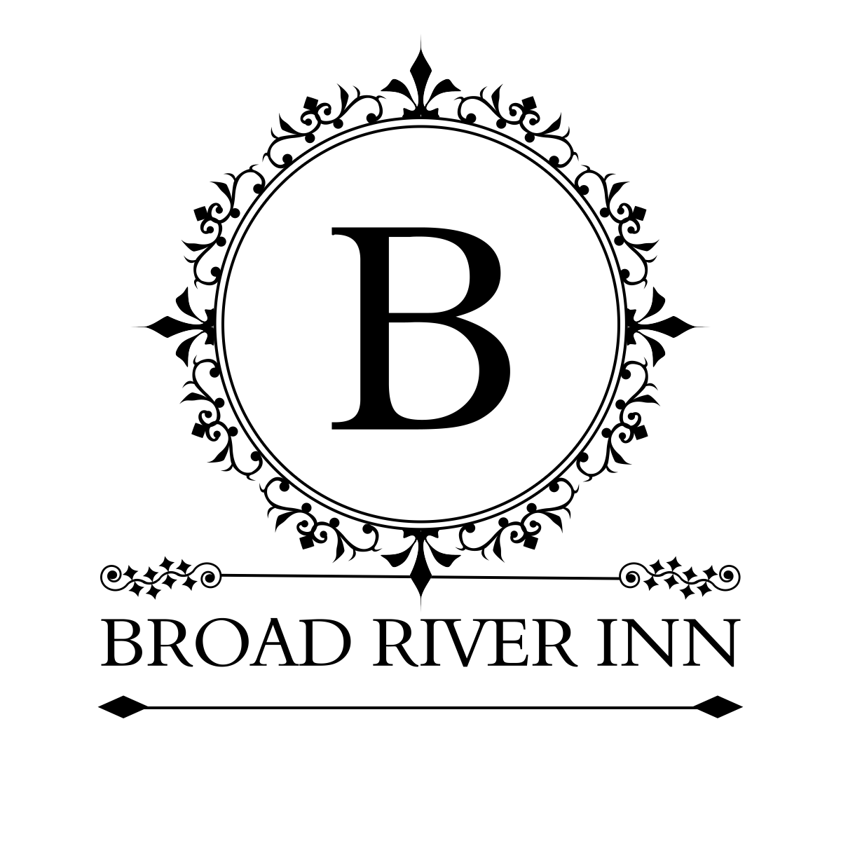 logo of broad river inn